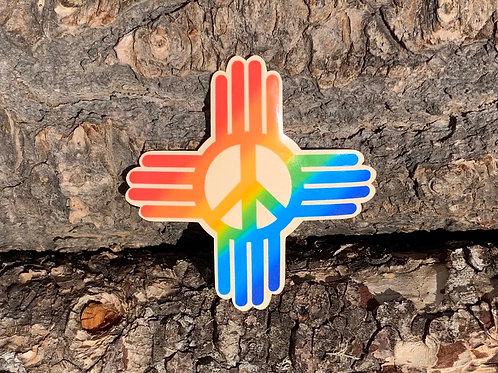 Rainbow Peace Zia