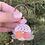 Thumbnail: Disco Flowers Keychain