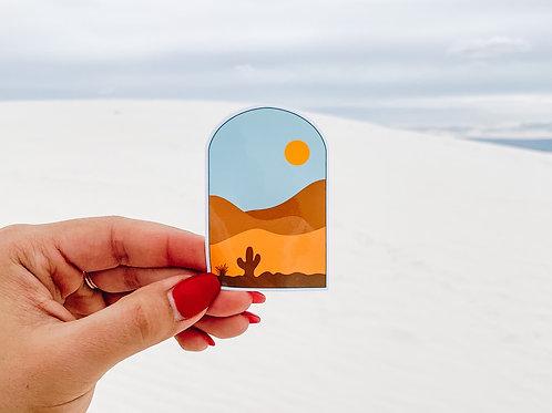 Southwestern Desert Sticker