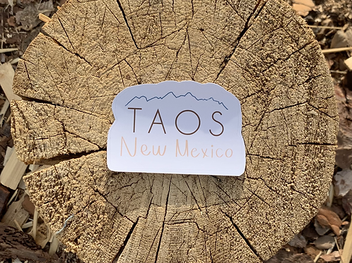 "New Mexico ""Taos"" Sticker"