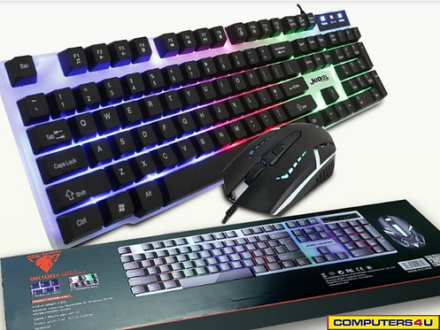 JEDEL GK100 GAMING KB+MOUSE COMBO