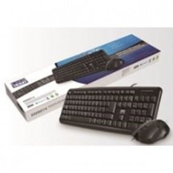 LMS Data Keyboard & Mouse Set Black - USB