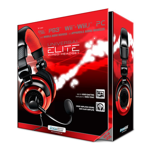 Dream Gear Universal Elite Wired Headset