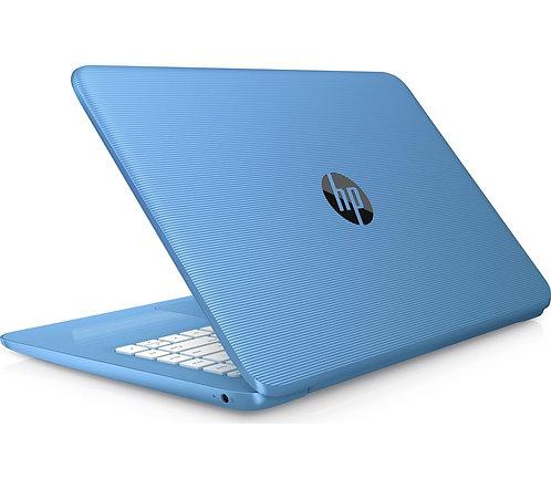 "HP Stream 14-ax058sa 14"" Intel® Celeron™ Laptop - 32 GB eMMC, Blue"