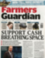Farmers Guardian January 2018 edition Front Cover