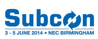 Subcon 2014 – The UK's Contract Manufacturing & Technology Show