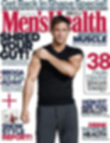 Men's Health January 2018 edition front cover