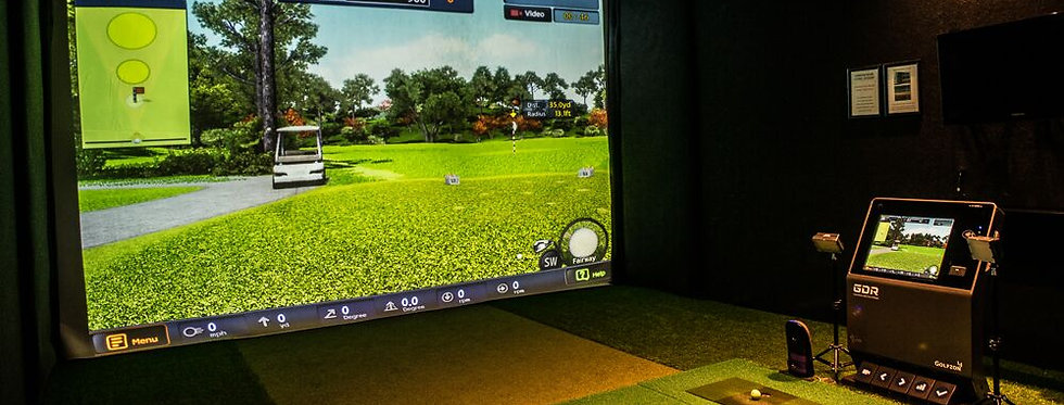 1 Hour Golfzon Simulator Experience