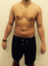 Andy's Body before