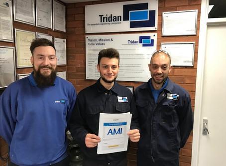 Jordan Wins Apprentice of the Month…