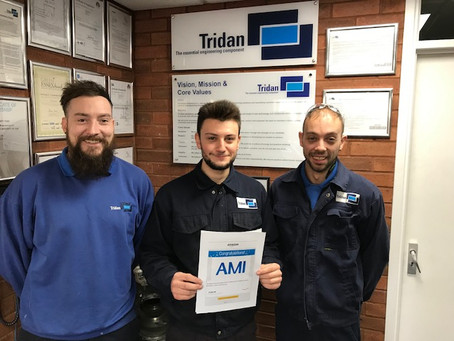 Jordan Wins Apprentice of the Month…