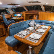 Kraken 66 Dining Interior