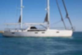 French Yacht Builder Chantiers Amel uses Brunton Propeller's Autoprop