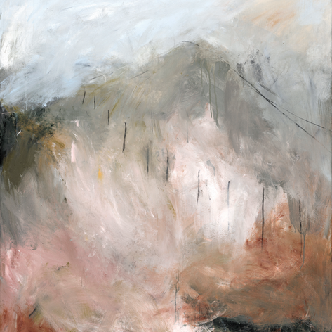 The Descent from the Ridge - SOLD