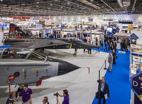 Just over 6 weeks to go until DSEI...