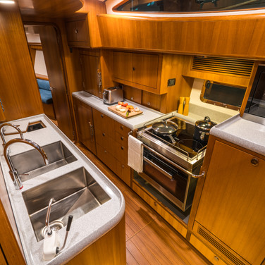 Kraken 66ft Yacht Galley