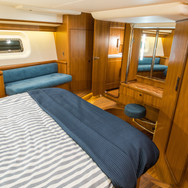 Kraken 66ft Yacht Luxury Interior Cabin