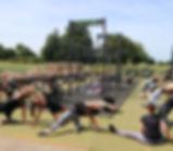 Farm Fitness Team doing Yoga at Farm Fitness