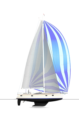 Kraken 50 ft sailing yacht