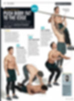 Men's Health free workout pag