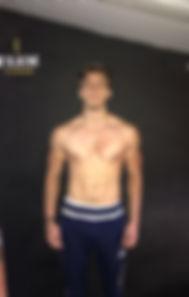 Sam after training at Farm FitnesSam