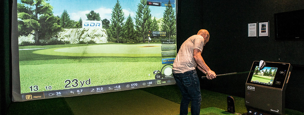 Indoor Golf 6 lessons for 45 minutes each
