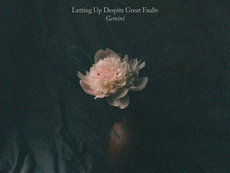 """""""Gemini""""  - Letting Up Despite Great Faults 
