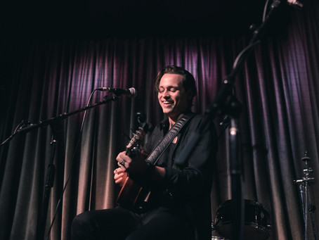 Russell Jamie Johnson at Hotel Cafe