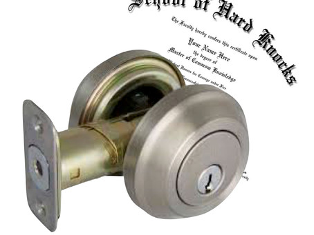 Did you Locks are Graded?