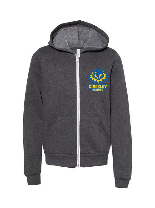Youth Zip-Up (Gray)