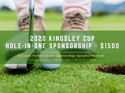 Kingsley Cup Hole-in-One Sponsorship
