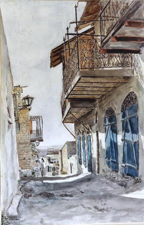 Rehov Tarpat, Safed