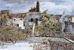 Back of my house in Safed