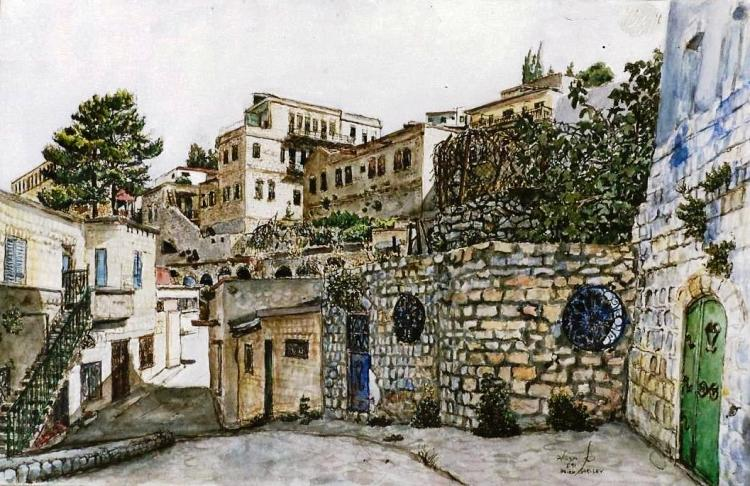 Alleyway in Safed