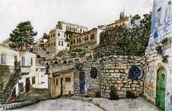 Alleyway in Safed