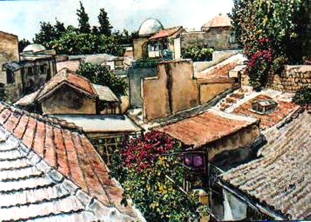Rooftops in the Old City