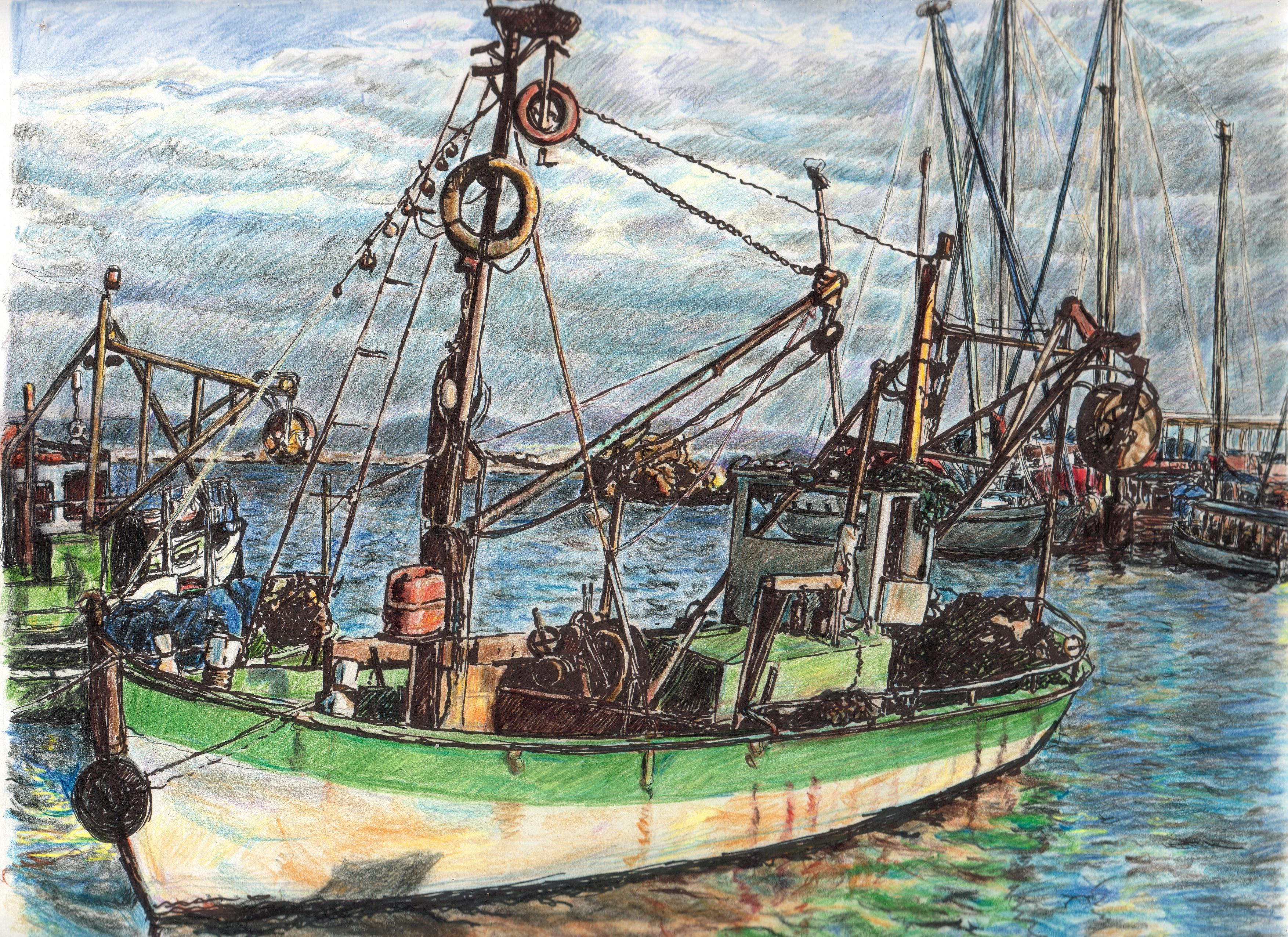 Fishing Boat in Acco (Acre)