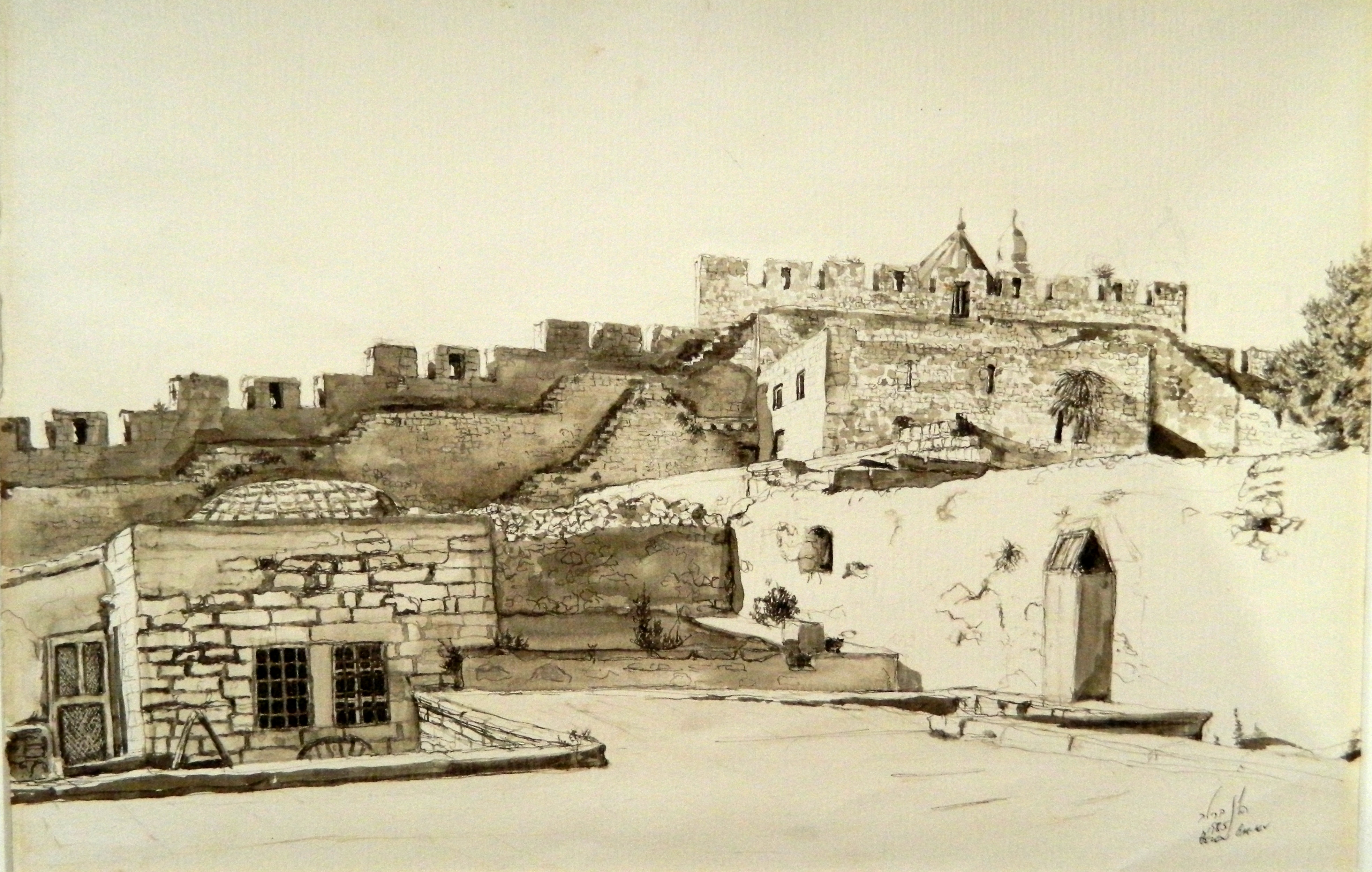 Dormican Abbey from Armenian Quarter