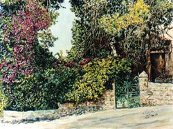 Gate in the German Colony
