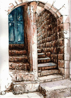 Steps in Old City