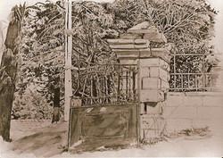 Gate in Abu Tor