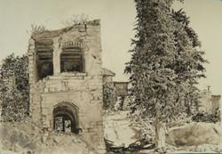 Ruins in Safad