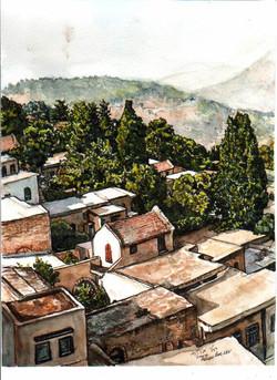 Safed rooftops