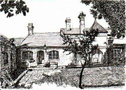 House in Sergei Courtyard