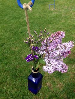 Blue Bottle for Floral Sprays