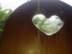 Heart Shaped Accents in Chairs