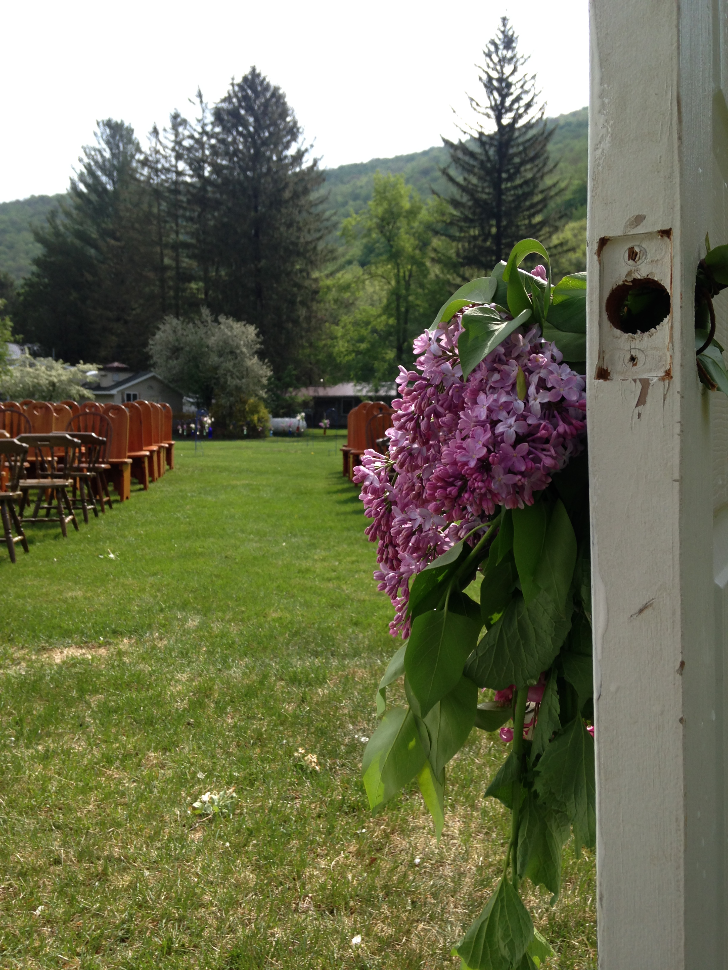 Spring Catskills Wedding Photo