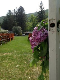Spring Catskills Wedding Photo