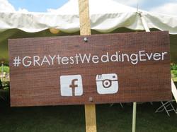 Adorable Wedding Sign
