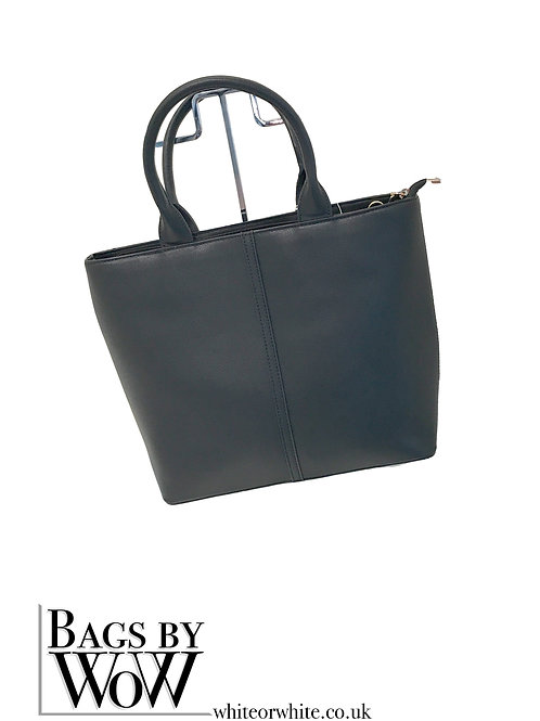 "BLS039 ""Tyne"" Black Tote Bag"
